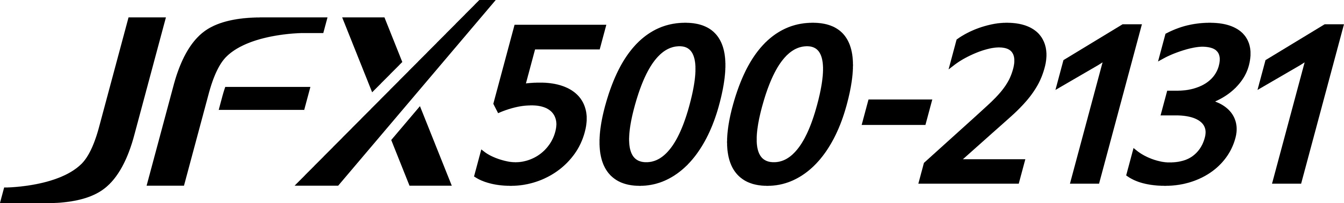 JFX500-2131 Logo